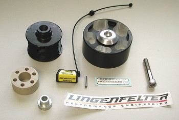 C6 Corvette 09-13 Lingenfelter Supercharger Pulley Upgrade ZR1 & LS9