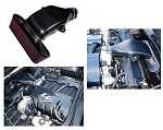 C6 LS7 Carbon Fiber Kit. Radiator Cover, Fuel Rail & Cold Air