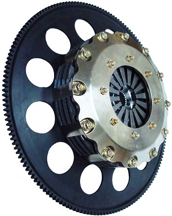 C6 ZR1 Corvette LG Tilton Triple Carbon Clutch