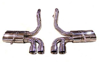 C5 Corvette 97-04 Big Three Catback Exhaust System
