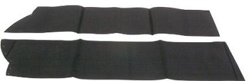 86-96 C4 Corvette Convertible Top Bow Stay Pads
