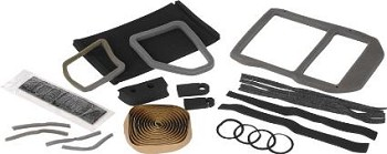 68-82 C3 Corvette Heater / AC Evaporator Box Seal Rebuild Kit