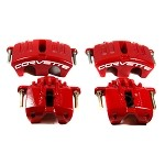 05-13 C6 Corvette Red Powder Coated Brake Caliper