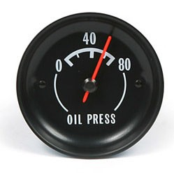 68-73 C3 Corvette Oil Pressure Gauge