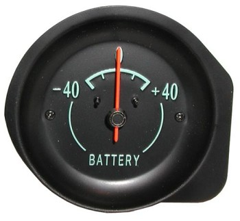 68-74 C3 Corvette Ammeter / Battery Gauge