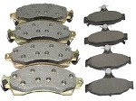 84-96 C4 Corvette Semi Metallic Brake Pads Set