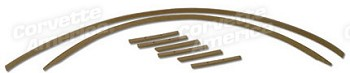 68-75 C3 Corvette Convertible Top Tack Strip Kit