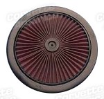 68-72 C3 Corvette K&N Air Cleaner Top X-Stream