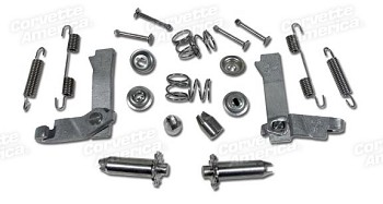 68-82 C3 Corvette Stainless Steel Park Brake Kit