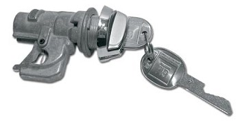 78-82 C3 Corvette Dash Glove Box Lock - Single