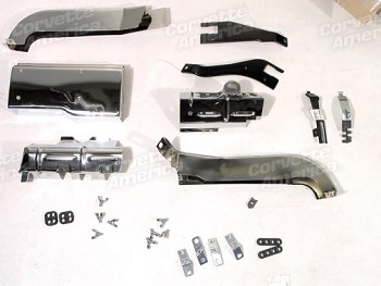 68-74 C3 Corvette Small Block Ignition Shield Kit