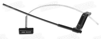 68-82 C3 Corvette Hood Release Cable Assembly