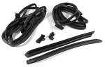 68-75 C3 Corvette Convertible Weatherstrip Body Kit - 8pcs