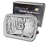 84-96 C4 Corvette Oracle Sealed Beam SMD Halo Headlight Assembly - Pair