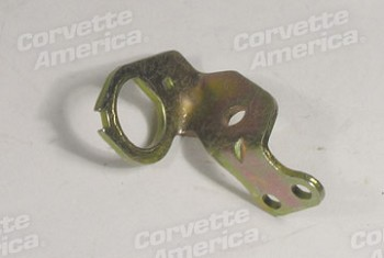 71-72 C3 Corvette Carburetor Idle Stop Solenoid Bracket - Holley