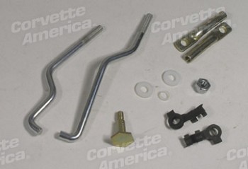68-69 C3 Corvette Carburetor Linkage Kit - 3x2
