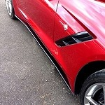 C7 Corvette Stingray 2014+ Stage 1 Style Side Skirts