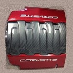 C7 Corvette 2014+ Stingray HydroCarbon Engine Plenum Cover Overlay