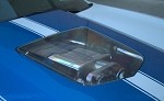 C6 Corvette 2005-2013 ZR1 Hood w/ Polycarbonate Window