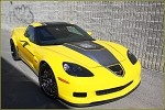 C6 Corvette 05-13 ZR1 Supercharger Monster Hood w/ Polycarbonate Window