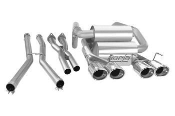 C6 Corvette 2005 - 2013 Borla Cat Back Exhaust System - S Type