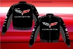 C6 C5 C4 C3 Corvette Collage Jacket w/ C6 Main Logo