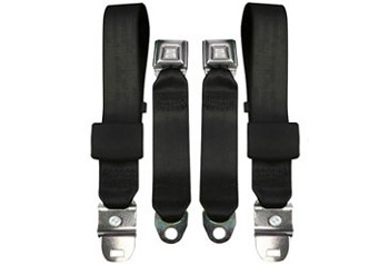 1968-71L Corvette Lap Seat Belts Only (for use with retractable shoulder belts)