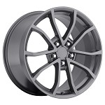 C6 Corvette 60th Anniversary Gray Wheels 19 x 10 /20 x 12 Set