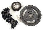 C1 C2 C3 Corvette 1957-1979 Timing Chain & Gears - Double Roller
