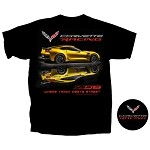 C7 Corvette Z06 2014+ Where Track Meets Street Z06 T-Shirt