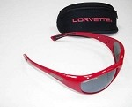Universal Corvette 1953-2014+ Sunglasses w/ Smoke Mirror Lenses - Red, White or Silver Option