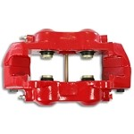 C3 Corvette 1968-1982 Stainless Steel Sleeved O-Ring Calipers - Powder Coated Red - NO Core Charge
