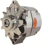C4 Corvette 1984-1996 Power Master Alternator - Chrome - 120 & 140 Amp