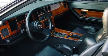 Pictures Of Corvettes >> C4 Corvette 1984-1989 Complete No-Mar Faux Wood Dash ...