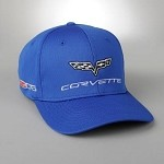 C6 Corvette 2005-2013 Z06 Flags and Script Cap