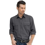 Universal Corvette 1953+ Textured Button Down Shirt