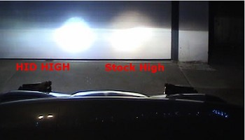 Corvette C5 97-04 HID High Beam Conversion