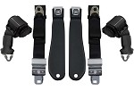 1970-71 Corvette Lap Belt w/ Shoulder Belt, OE Style Pair