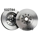 C3 1965-82 Corvette Rotors, Hubs & Spindles NEW
