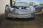 C7 Corvette Stingray 2014+ Retro Matrix Style Front Grille - 3 Piece