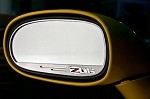Corvette C6 Z06 Side View Mirror Logo Trim