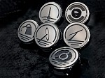 1997-2013 C5 C6 Manual Corvette Executive Series Fluid Cap Cover 6Pc Set - Carbon Fiber