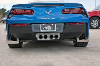 C7 Corvette Stingray 2014+ Perforated Exhaust Enhancer Plate