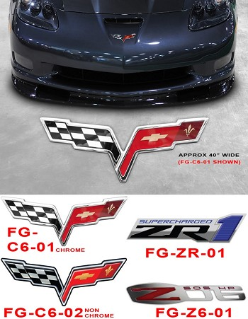 Corvette C6 C5 Base/Z06/ZR1/Grand Sport Garage Floor Decal Overlays