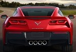 C7 Corvette Stingray 2014+ Custom Painted Tail Light Bezels - 2pc Kit