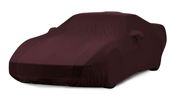 C4 40th Aniversary Ruby Red Corvette Car Cover