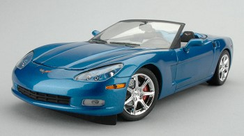 C6 Corvette Models 1:24 Scale Jetstream Blue