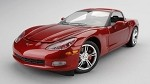 C6 Corvette Models 1:24 Scale Crystal Red