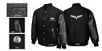 Corvette C5 C6  Varsity Jacket w/Applique Front/Rear