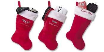 Corvette C4 C5 Christmas Stocking